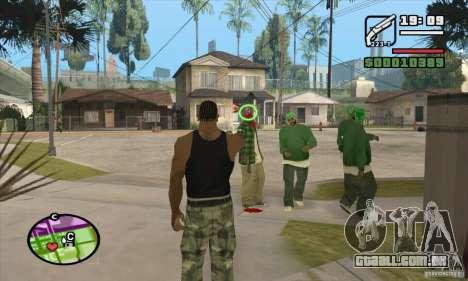 Nova vista para GTA San Andreas segunda tela