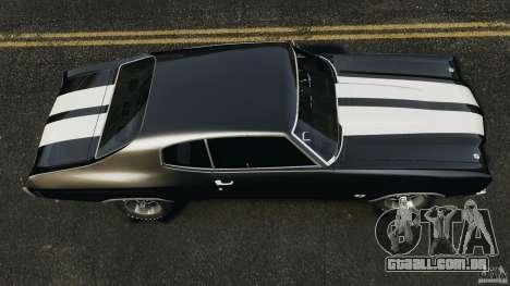 Chevrolet Chevelle SS 1970 v1.0 para GTA 4 vista direita