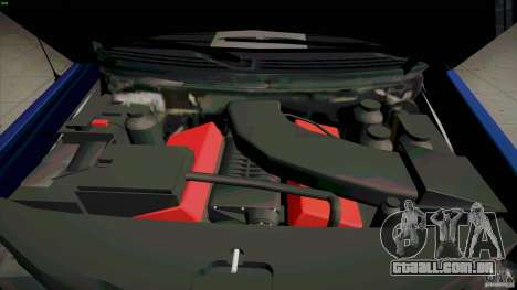 Ford Lobo Lariat Ecoboost 2013 para GTA San Andreas vista interior