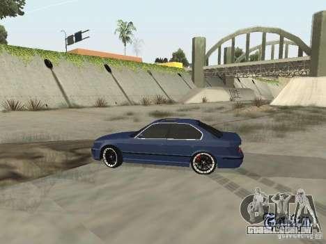 BMW M5 E34 V2.0 para GTA San Andreas vista direita