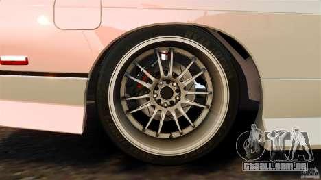 Nissan 240SX facelift Silvia S15 [RIV] para GTA 4 vista inferior