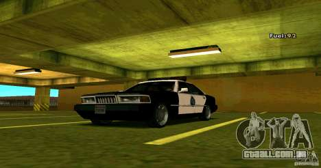 Sentinel Police LV para GTA San Andreas