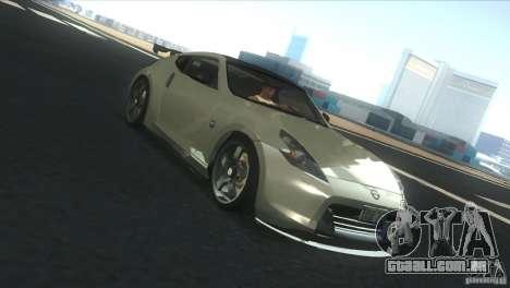 Nissan 370Z Drift 2009 V1.0 para vista lateral GTA San Andreas