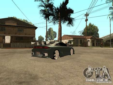 Mitsubishi Eclipse para GTA San Andreas traseira esquerda vista