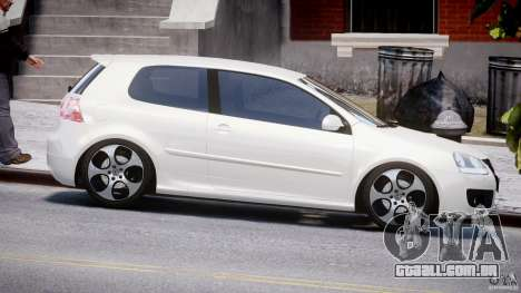 Volkswagen Golf GTI 2006 v1.0 para GTA 4 vista interior