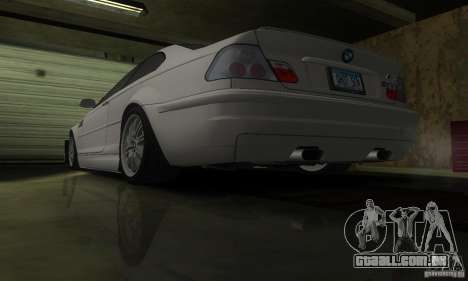 BMW M3 Tuneable para vista lateral GTA San Andreas