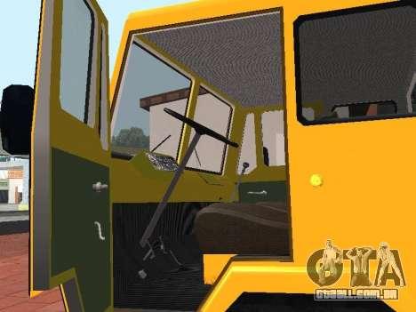 KAZ 608V para GTA San Andreas vista direita