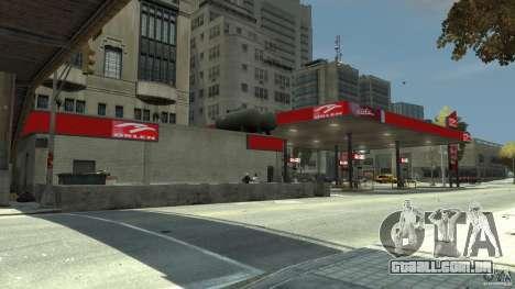 New gas station para GTA 4 por diante tela
