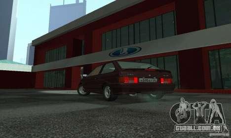 2113 Vaz Suite v. 1.0 para GTA San Andreas traseira esquerda vista