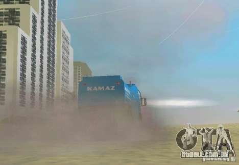 Kamaz Master para GTA Vice City deixou vista