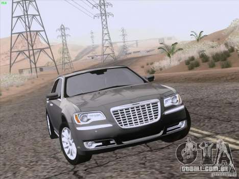 Chrysler 300 Limited 2013 para as rodas de GTA San Andreas