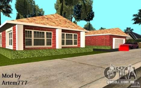 Novas texturas para casa Millie para GTA San Andreas