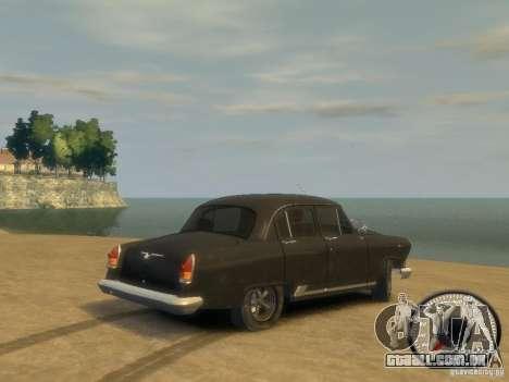 Gaz Volga de 21 v8 para GTA 4 esquerda vista