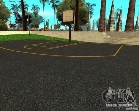 Basquete de HQ para GTA San Andreas segunda tela