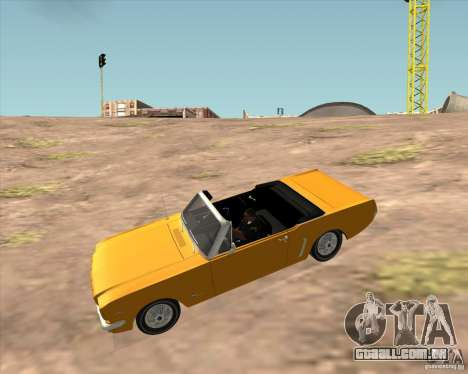Ford Mustang 289 1964 para GTA San Andreas vista direita