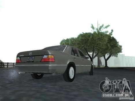 Mercedes-Benz 250D para GTA San Andreas vista direita