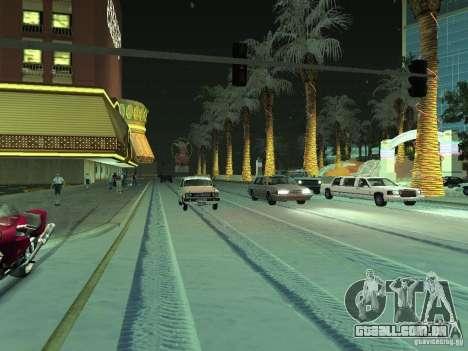 Neve v 2.0 para GTA San Andreas segunda tela