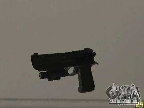 Armas do COD MW 2 para GTA San Andreas sétima tela
