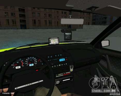 ВАЗ 2114 para GTA San Andreas traseira esquerda vista