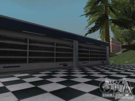 New Doherty para GTA San Andreas por diante tela