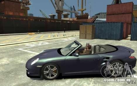 Porsche 911 Cabriolet 2010 para GTA 4 esquerda vista