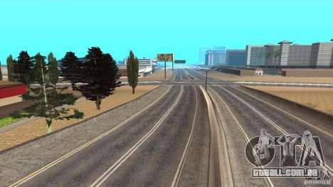 New HQ Roads para GTA San Andreas quinto tela