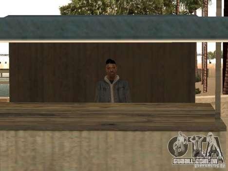 Mercado na praia para GTA San Andreas segunda tela