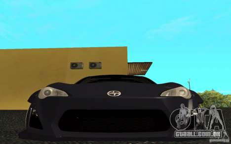 Scion FR-S para GTA San Andreas esquerda vista