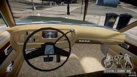 Dodge Dart 1975 [Final] para GTA 4 vista de volta