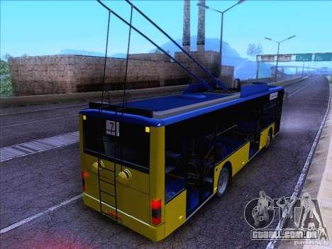 ElectroLAZ-12 para GTA San Andreas vista interior