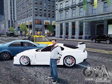 Toyota Supra Drift Setting para GTA 4 esquerda vista
