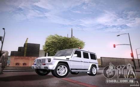 New Graphic by musha v2.0 para GTA San Andreas terceira tela