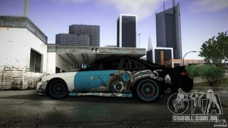 Nissan Silvia S14 NoNgrata para GTA San Andreas esquerda vista