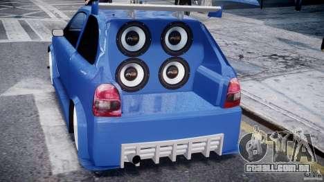 Chevrolet Corsa Extreme Revolution para GTA 4 interior
