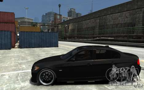 BMW 330i E60 Tuned 1 para GTA 4 esquerda vista