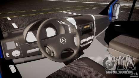 Mercedes-Benz ASM Sprinter Ambulance para GTA 4 vista de volta