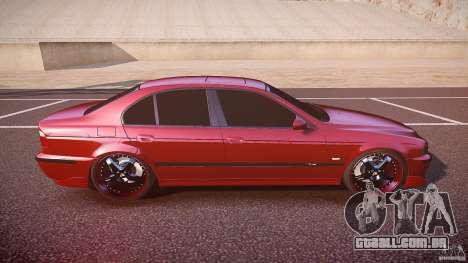 BMW M5 E39 Hamann [Beta] para GTA 4 vista lateral