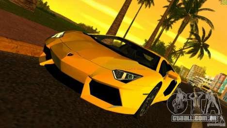 Lamborghini Aventador LP 700-4 para GTA Vice City
