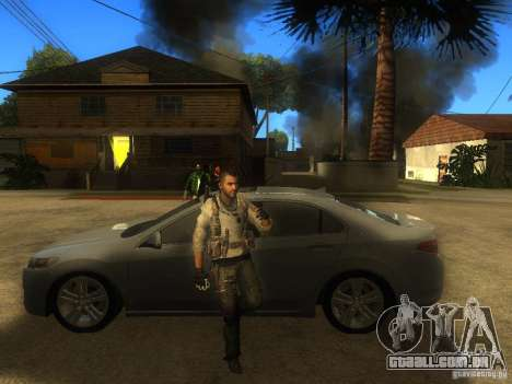 Animation Mod para GTA San Andreas