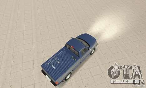 Dodge Ram 2500 1994 para GTA San Andreas traseira esquerda vista