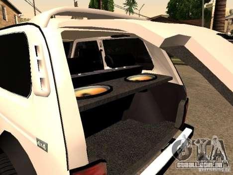 Armenian NIVA DORJAR 4 x 4 para vista lateral GTA San Andreas
