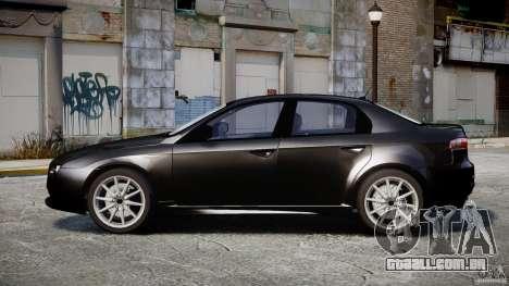 Alfa Romeo 159 Li v2 para GTA 4 vista de volta