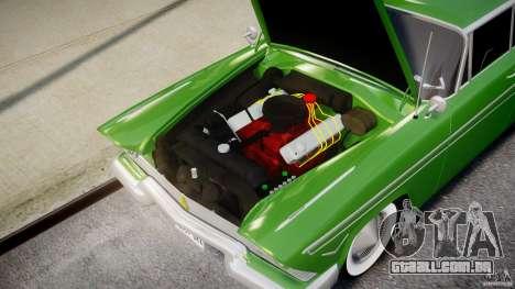 Plymouth Belvedere 1957 v1.0 para GTA 4 vista direita
