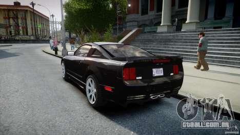 Saleen S281 Extreme Unmarked Police Car - v1.2 para GTA 4 traseira esquerda vista