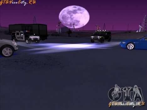 Iluminação de néon-néon no GTA San Andreas para GTA San Andreas