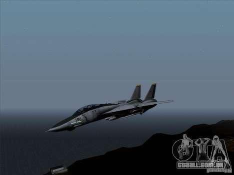 F-14 Tomcat Warwolf para GTA San Andreas esquerda vista