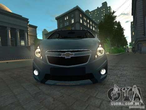 Chevrolet Spark para GTA 4 vista direita