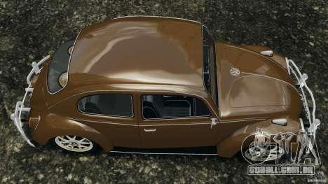 Volkswagen Fusca Gran Luxo v2.0 para GTA 4 vista direita