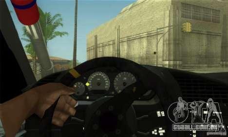 BMW E36 Urban Perfomance Garage para vista lateral GTA San Andreas