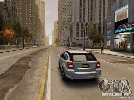 Dodge Caliber para GTA 4 rodas